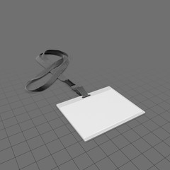 Lanyard with neck strap