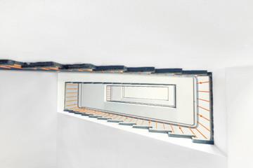 modern light staircase