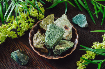 Green Rough Stones