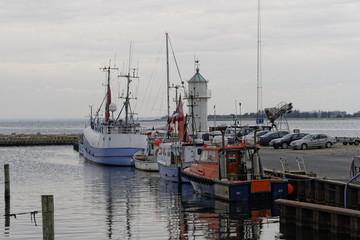 Port de Årøsund, Danemark