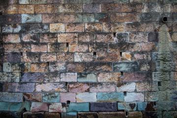 Old Brick Wall at River Wharf