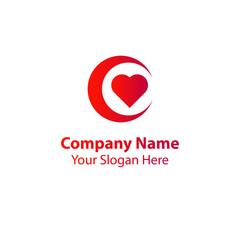 night love logo design