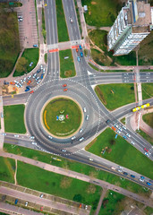 Roundabout from the sky