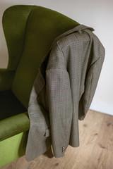 Vintage tweed jacket.