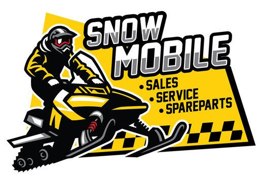 snowmobile store and garage design