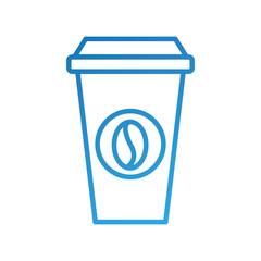 portable coffee cup paper bean cap fresh