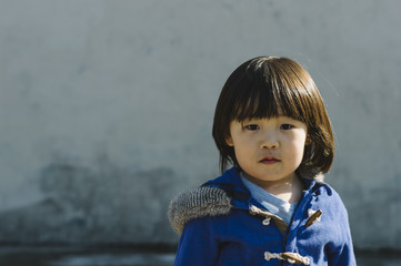 Young Asian American Boy Portrait
