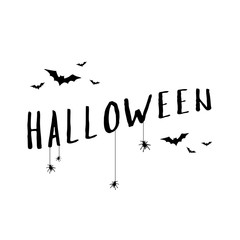 Collection Halloween text banner style