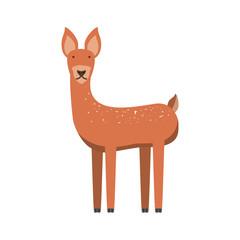 cartoon deer icon
