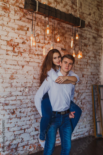 Girl hugging guy from behind  What Does It Mean When A Girl