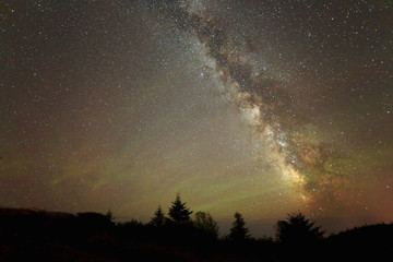 Night Sky with Airglow