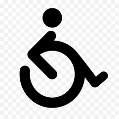 disabled logo design