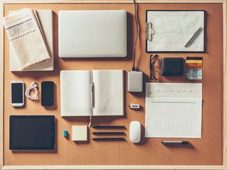 Neat Business Desk