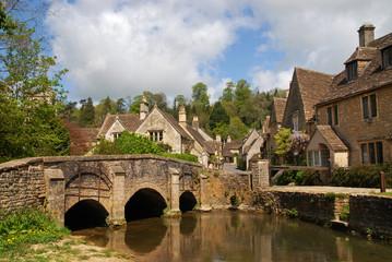 Bridge in Castle Combe, UK