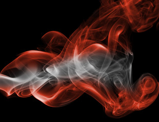 Austria national smoke flag