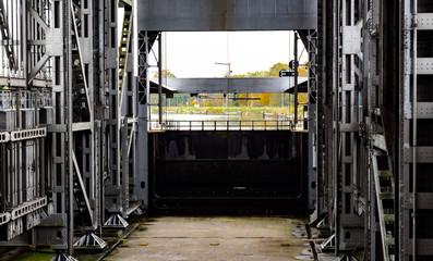 Schiffshebewerk Niederfinow - Unteres Schleusentor