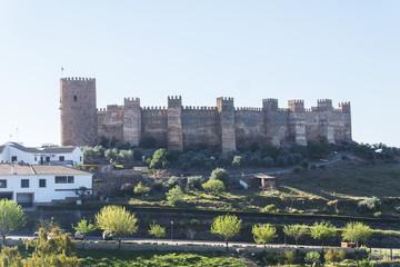 Burgalimar castle, Bury Al-Hamma, Baños de la encina village, Jaen province, Spain