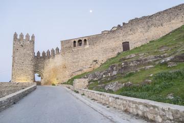 Sabiote village castle, Jaen, Spain
