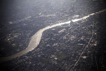 ロンドン 上空写真