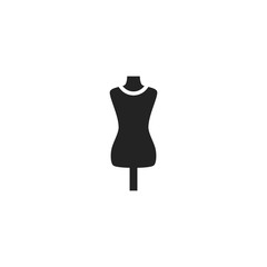 Mannequin Icon Vector Isolated