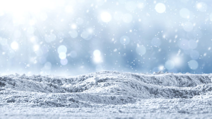 snow background and winter time