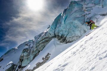 Skiing & Seracs