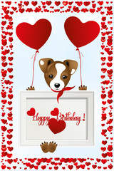 Birthday with Jack Russell