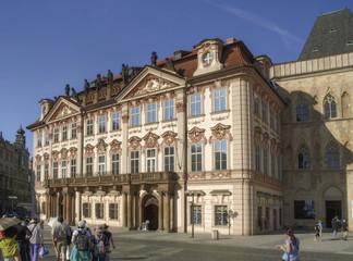 Fond de hotte en verre imprimé Vienne Prague