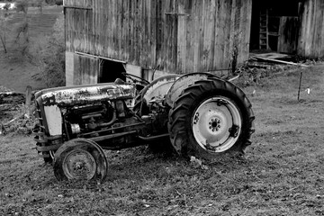 Tired Old Tractor