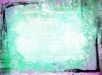 Blue Green Purple Grunge Background