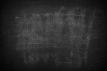Chalk rubbed out on blackboard and texture