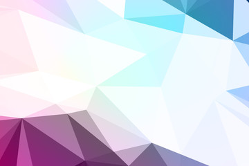 Abstract textured polygonal background