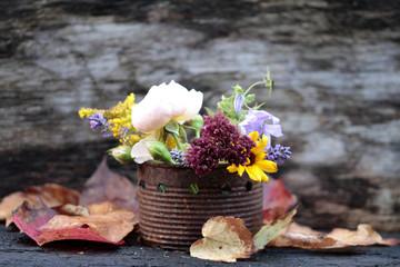 herbstblüten Arrangement