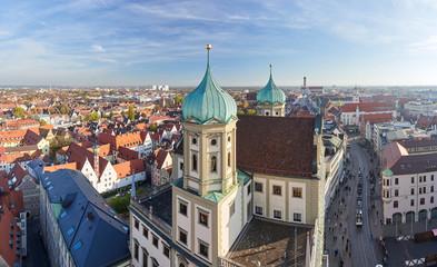 Panorama Augsburg