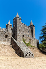Santa Maria da Feira Castle in Portugal