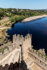 Castle of Almourol in Portugal