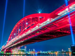 神戸大橋西面
