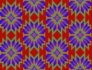 Diseño floral mexicano