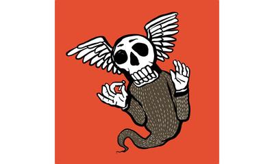 skeleton character vector-t-shirt design