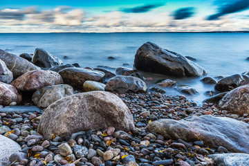 Baltic Sea with Long exposure