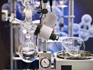 Laboratory rotary evaporator for chemistry
