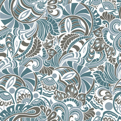 Seamless paisley pattern. Vector background for textile, print, wallpapers, wrapping.