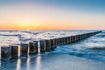 Ostseeküste am Abend