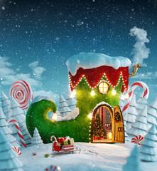 Amazing fairy house