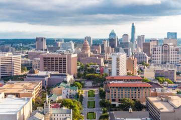 View of Austin Texas Downtown