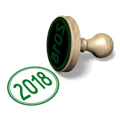2018 New Year illustration