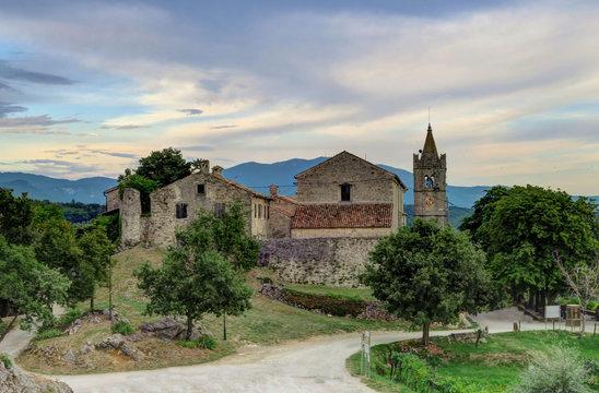 Church in Hum, Croatia