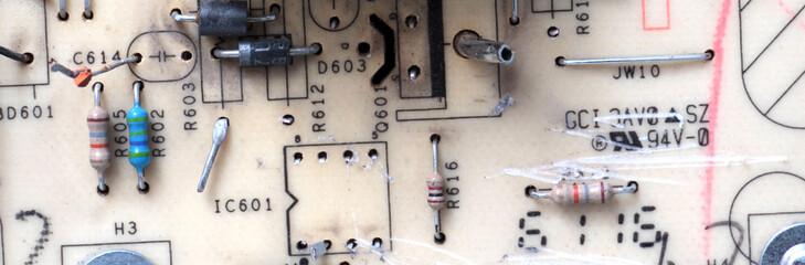 computer monitor circuit board