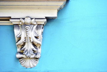 Architectural detail corbel. Decorative element Wall mural