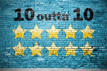 10 outta 10 Graffiti